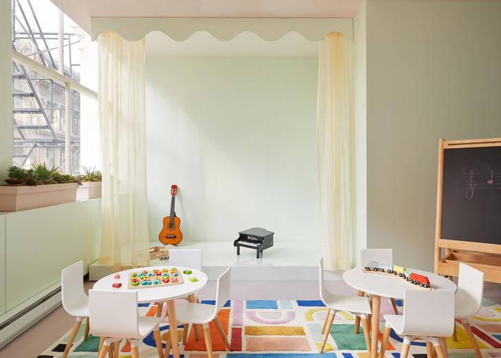 Детская комната в коворкинге The Wing (фото 8)