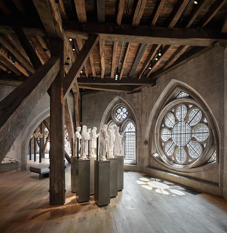 Путь к Бриллиантовой галерее: новая пристройка к Вестминстерскому аббатству (фото 13)