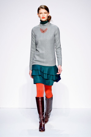 Показ Mila Schon коллекции сезона Осень-зима 2011-2012 года prêt-à-porter - www.elle.ru - Подиум - фото 246650
