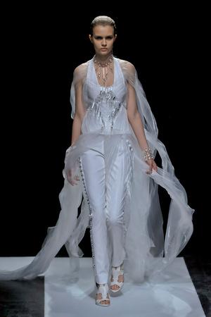 Показы мод Maxime Simoens Осень-зима 2011-2012 | Подиум на ELLE - Подиум - фото 2095