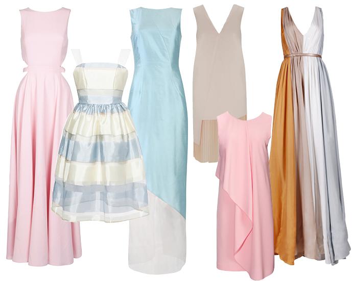 Модные выпускные платья фото 3
