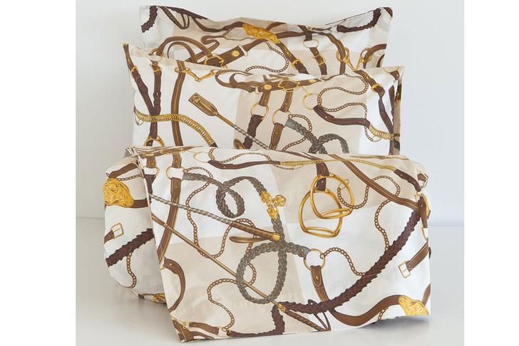 Постельное белье «Хлысты и стремена», Zara Home, магазины Zara Home