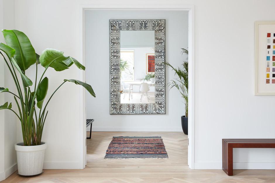 Зеркало в прихожей: 20+ стильных решений (галерея 1, фото 4)
