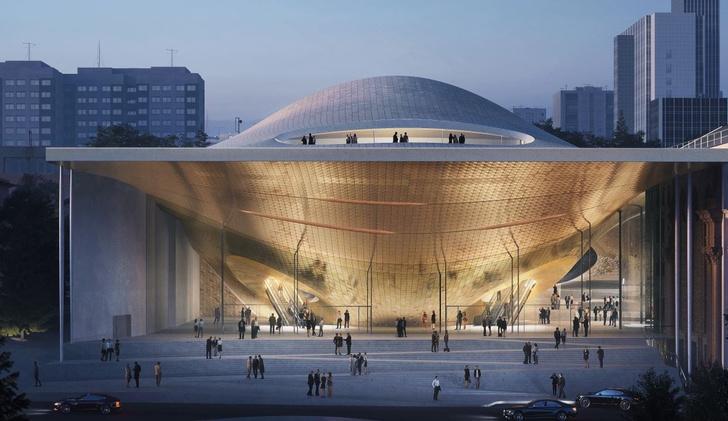 В Екатеринбурге появится филармония по проекту Zaha Hadid Architects (фото 0)