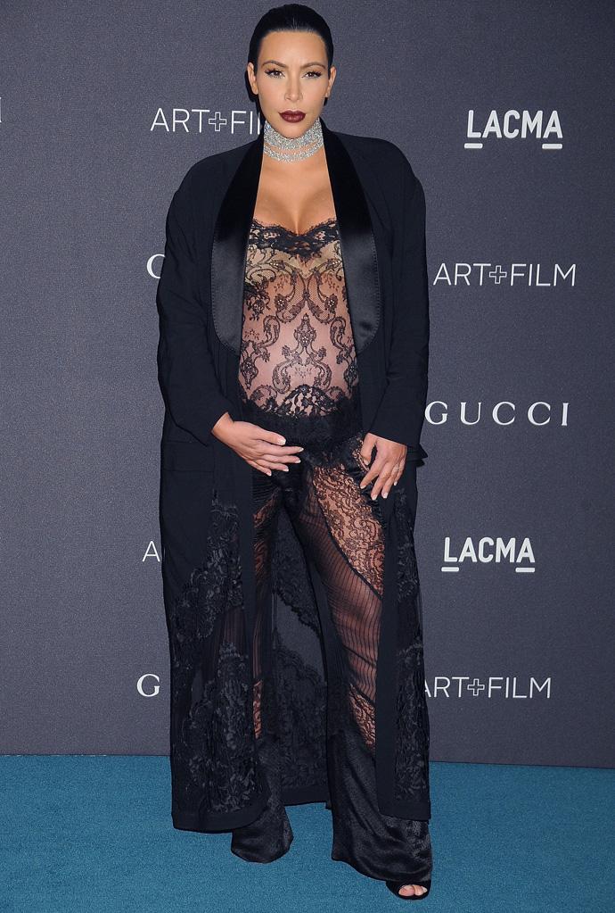 Ким Кардашьян планирует сделать пластику сразу после рождения ребенка