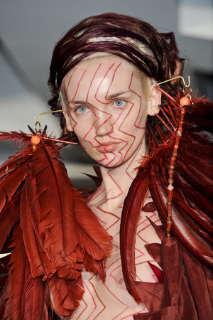 Показ Maurizio Galante коллекции сезона Весна-лето 2011 года haute couture - www.elle.ru - Подиум - фото 216748