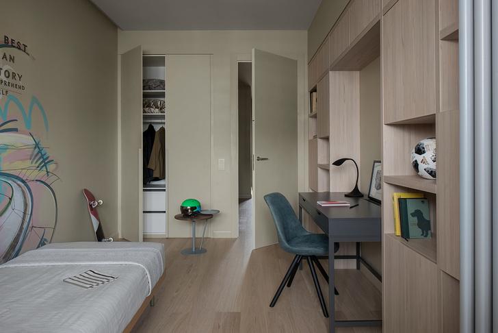 Уютный минимализм: московская квартира 150 м² (фото 21)