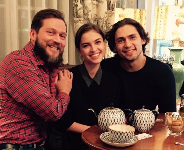 Петр Аксенов, Мария Виноградова и Иван Васильев
