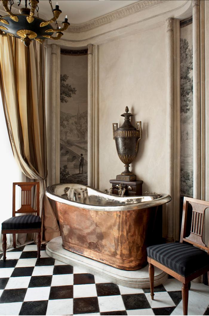 Тренд недели: ванная комната в классическом стиле | галерея [1] фото [1]