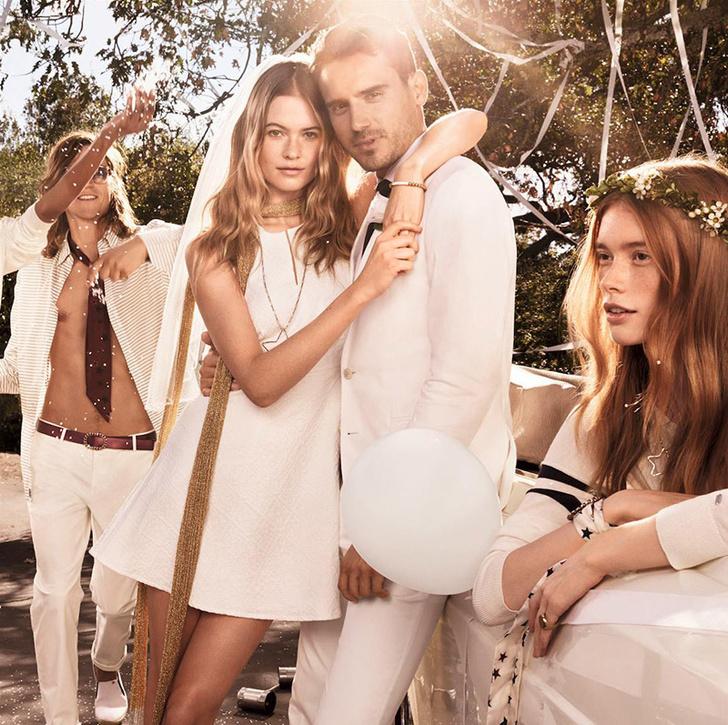 Рекламная кампания Tommy Hilfiger весна-лето 2015