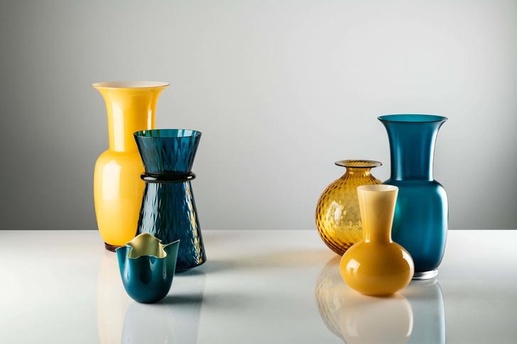 Баланс и хрупкость: вазы и декор Venini в новых оттенках (фото 6)