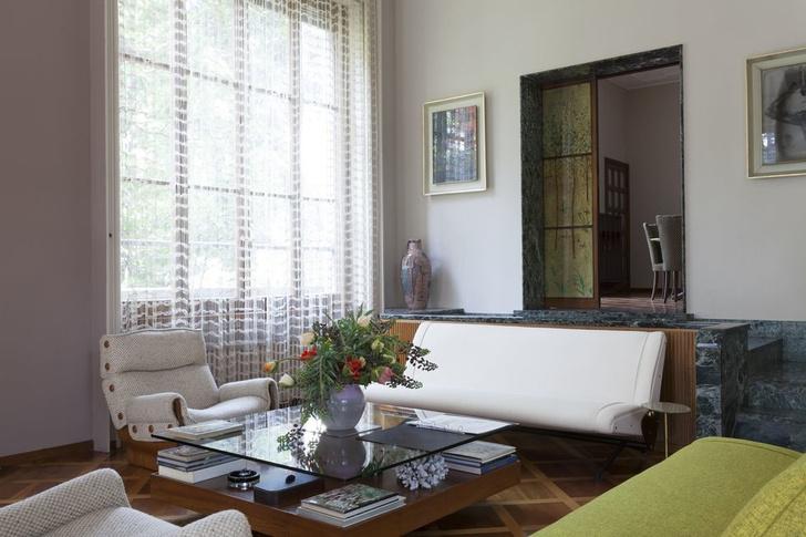 Дом-легенда: вилла Освальдо Борсани в Италии (фото 10)