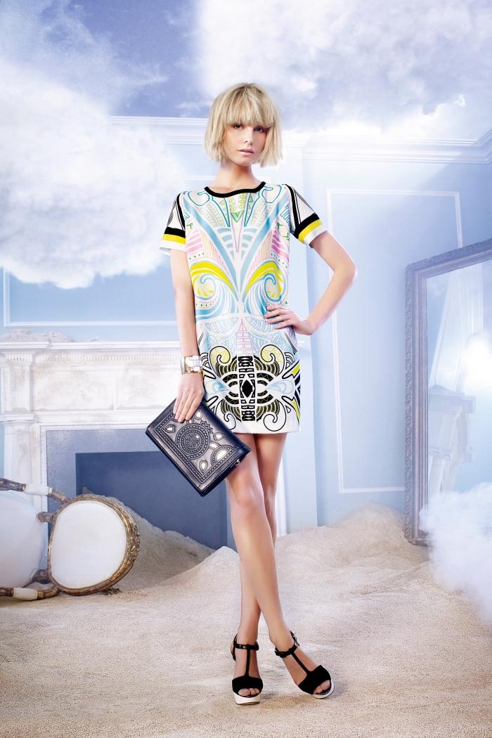 Кира пластинина коллекция весна лето 2014 психодинамическая девушка модель в социальной работе