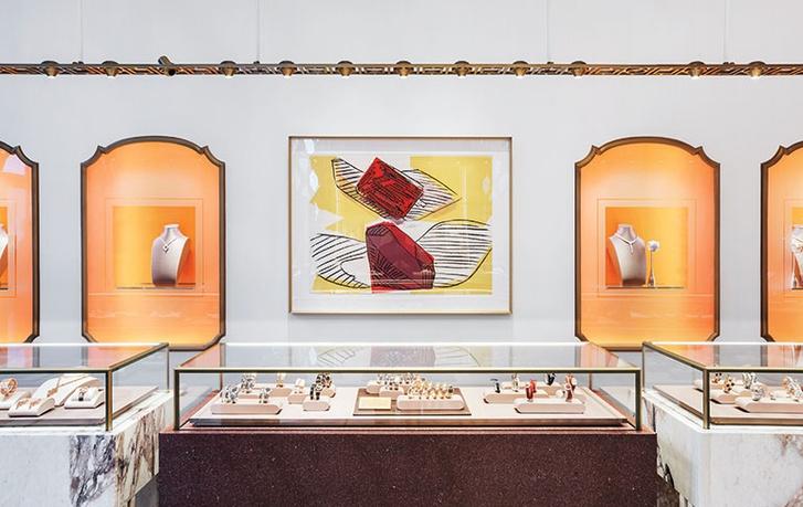 Питер Марино оформил бутик Bvlgari в Нью-Йорке (фото 5)