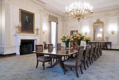 Как выглядят апартаменты президентской семьи в Белом доме? | галерея [3] фото [1]