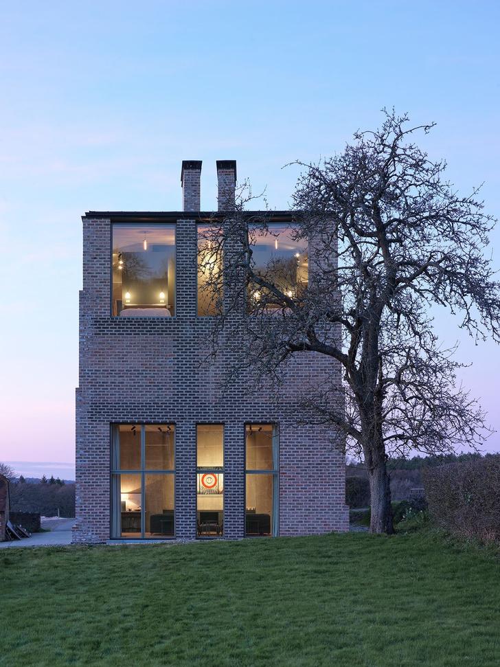 Дом архитектора Адама Ричардса в Западном Сассексе (фото 0)