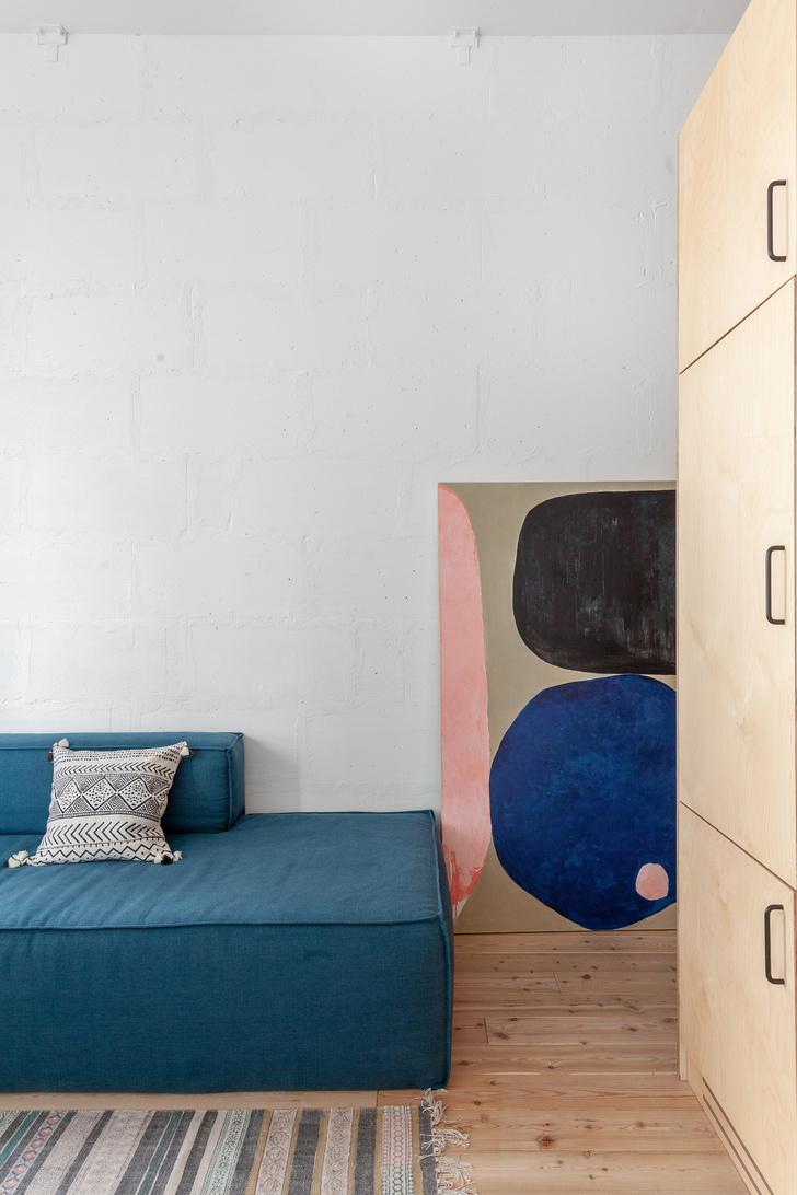 Короткий метр: студия 32 м² для молодой девушки (фото 6)