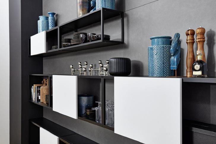 Интеграция кухонь в жилые зоны