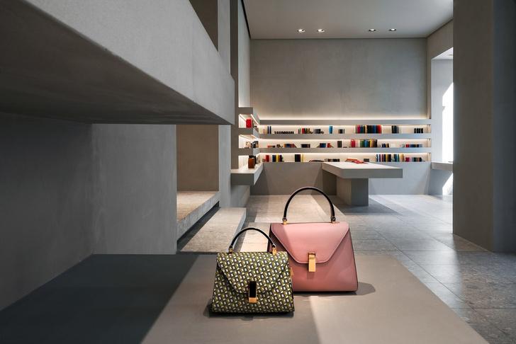 Редизайн бутика Valextra по проекту Джона Поусона (фото 2)