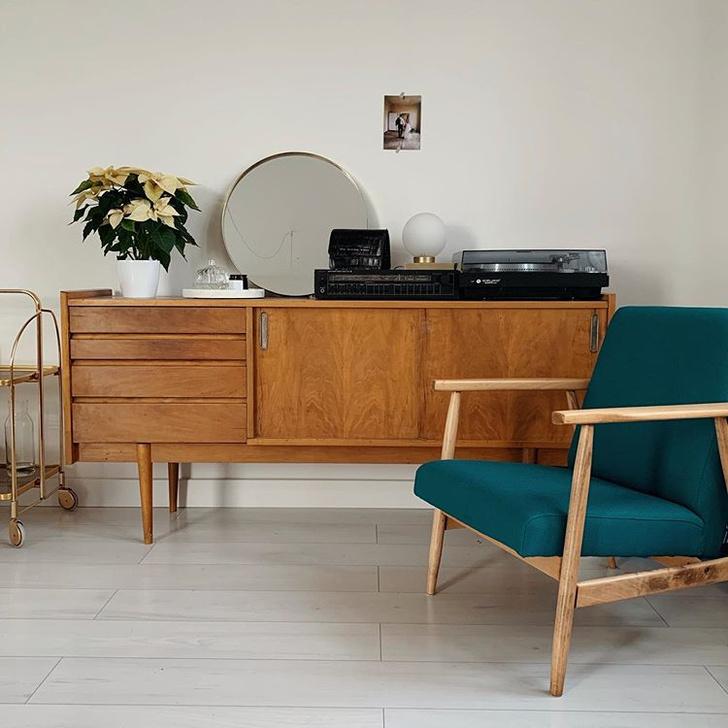Уютная квартира с винтажной мебелью в Познани (фото 8)