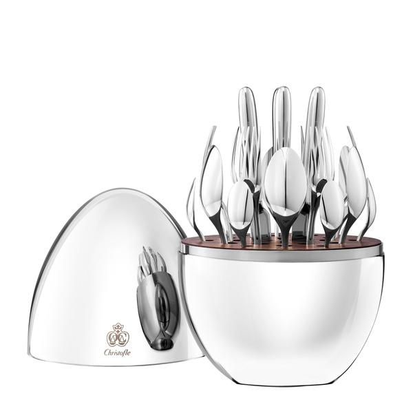 Парижский шик: объекты для свадебной сервировки от Lalique и Christofle | галерея [1] фото [1]