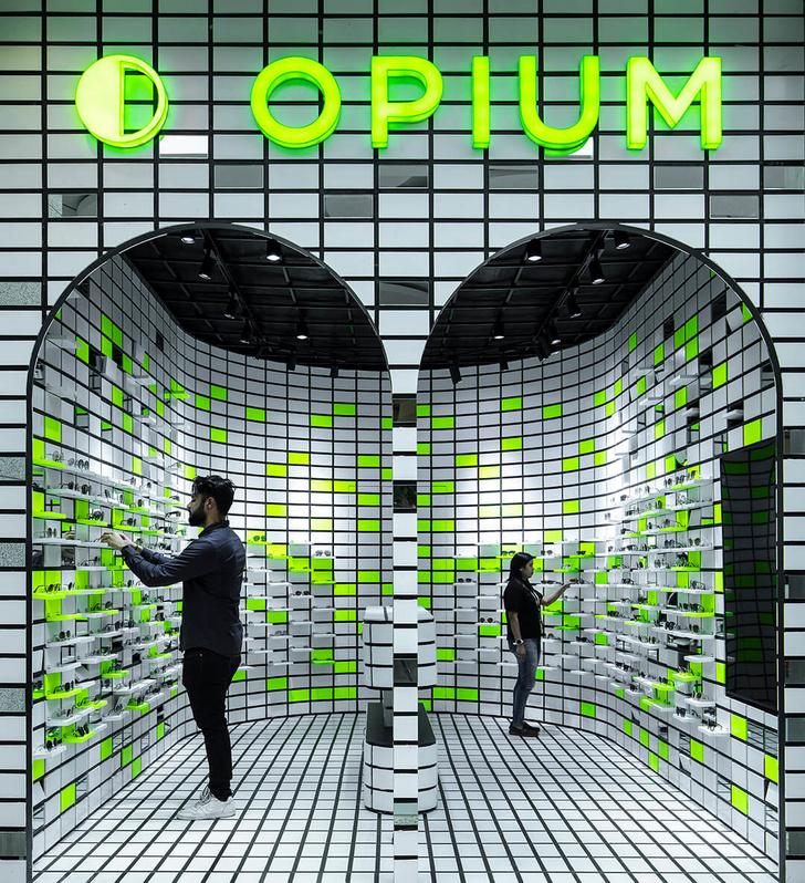 Opium для народа: оптика в стиле оп-арт в Мумбаи (фото 0)