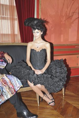 Показ Franc Sorbier коллекции сезона Осень-зима 2009-2010 года haute couture - www.elle.ru - Подиум - фото 87601