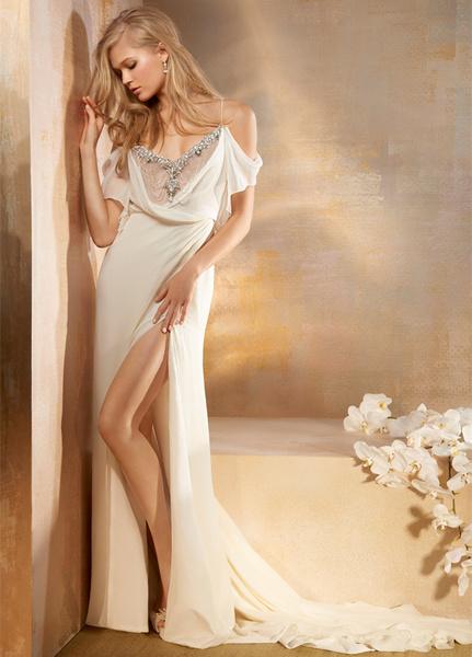 Самые сексуальные свадебные платья 5