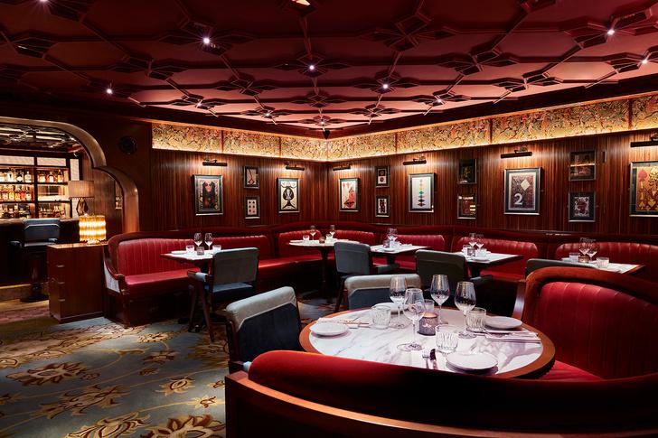 Лондонский бар Gymkhana в колониальном стиле (фото 0)
