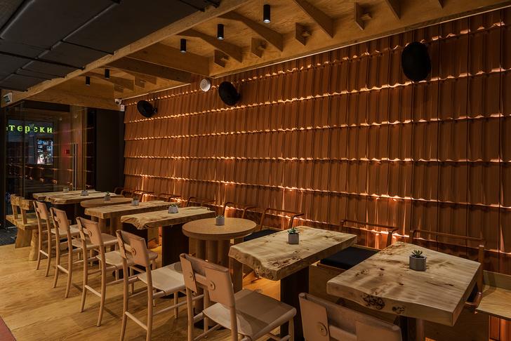 Японский бар Hachiko Bar & Kitchen в Москве (фото 7)