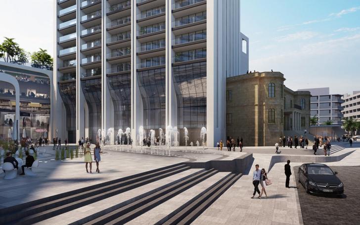 Zaha Hadid Architects: проект башни на Мальте (фото 2)