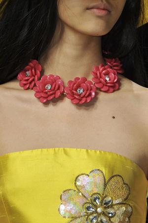 Показ Blugirl коллекции сезона Весна-лето 2014 года Prêt-à-porter - www.elle.ru - Подиум - фото 563039