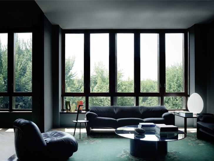 Миланская квартира в зеленых тонах (фото 7)