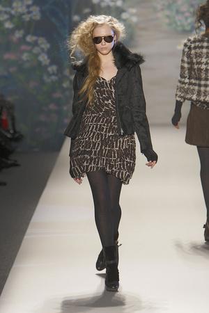 Показ Tracy Reese коллекции сезона Осень-зима 2010-2011 года prêt-à-porter - www.elle.ru - Подиум - фото 145099