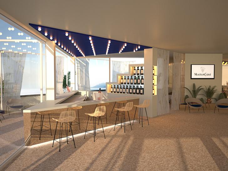 Модный дизайн интерьеров на 71-м Международном Каннском кинофестивале. (фото 2)