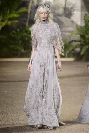 Показ Elie Saab коллекции сезона Весна-лето  2016 года Haute couture - www.elle.ru - Подиум - фото 602887