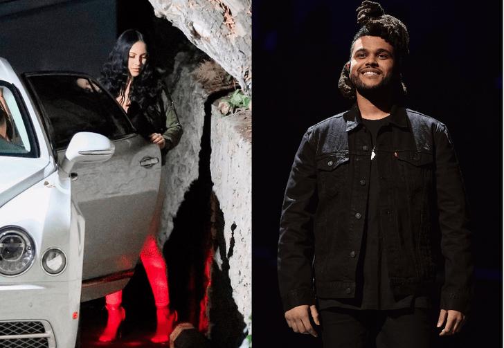 Роман The Weeknd с таинственной брюнеткой набирает обороты фото [1]