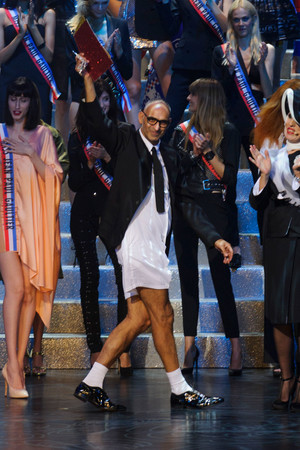 Показ Jean Paul Gaultier коллекции сезона Весна-лето 2015 года prêt-à-porter - www.elle.ru - Подиум - фото 591199