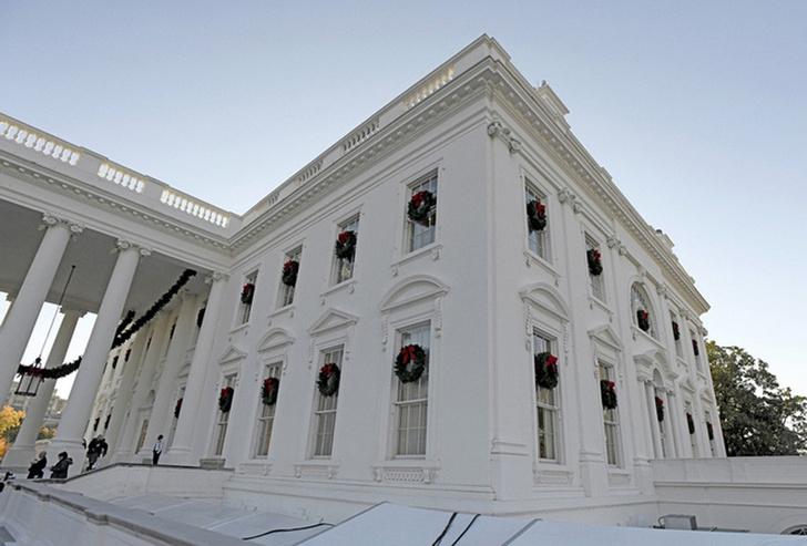 Мелания Трамп украсила Белый Дом к Рождеству фото [4]