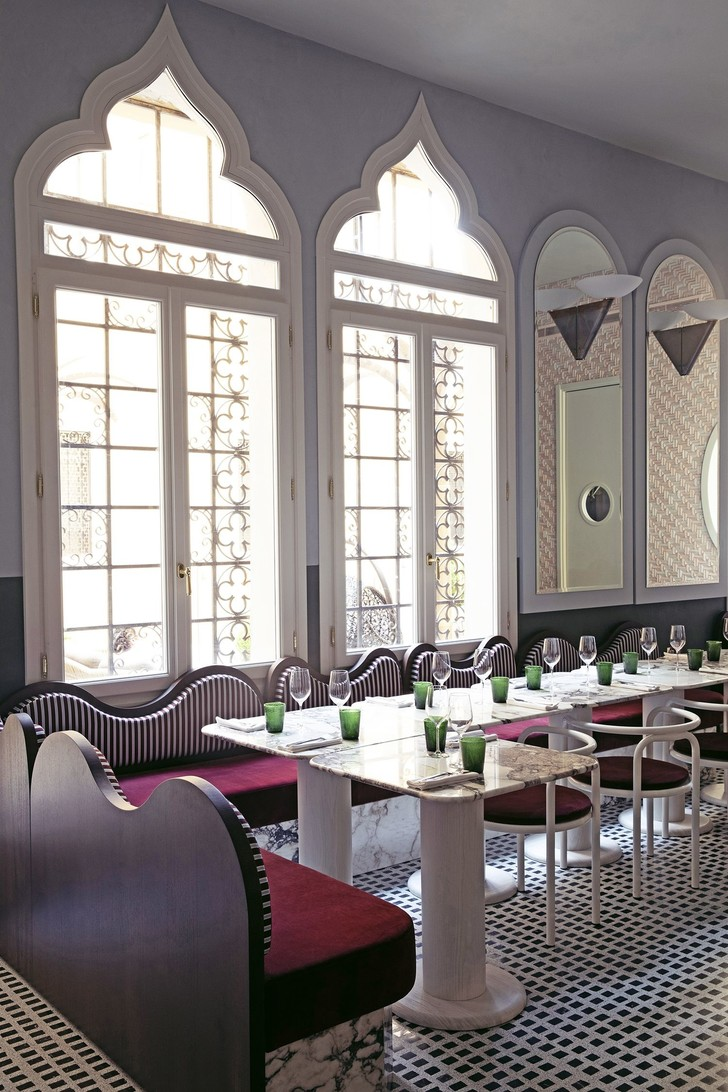 Ресторан Adriatica по дизайну Доротеи Мейлихзон в Венеции (фото 7)