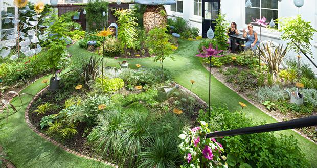 Топ-10 отелей с садами (фото 18)