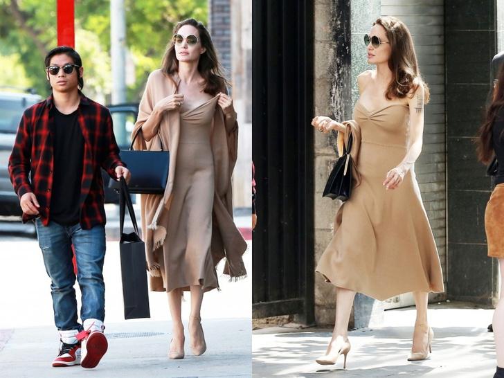 Анджелина Джоли в Лос-Анджелесе (фото 3)