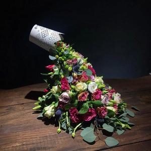 Дизайнерские букеты ко Дню святого Валентина (фото 2.1)