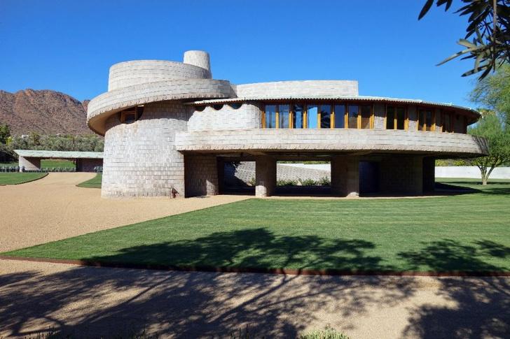 В Аризоне продается дом-спираль Фрэнка Ллойда Райта (фото 0)