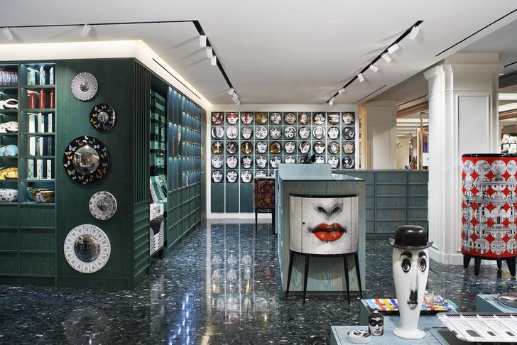 Новый бутик Fornasetti в универмаге Harrods (фото 0)