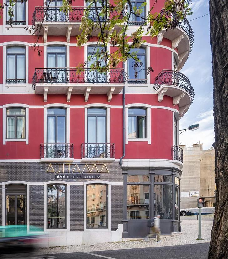 Лапшичная в Лиссабоне по проекту JCFS Architects (фото 11)