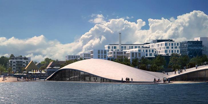 На месте бывшего аэропорта В Осло появится новый городской Аквариум фото [2]