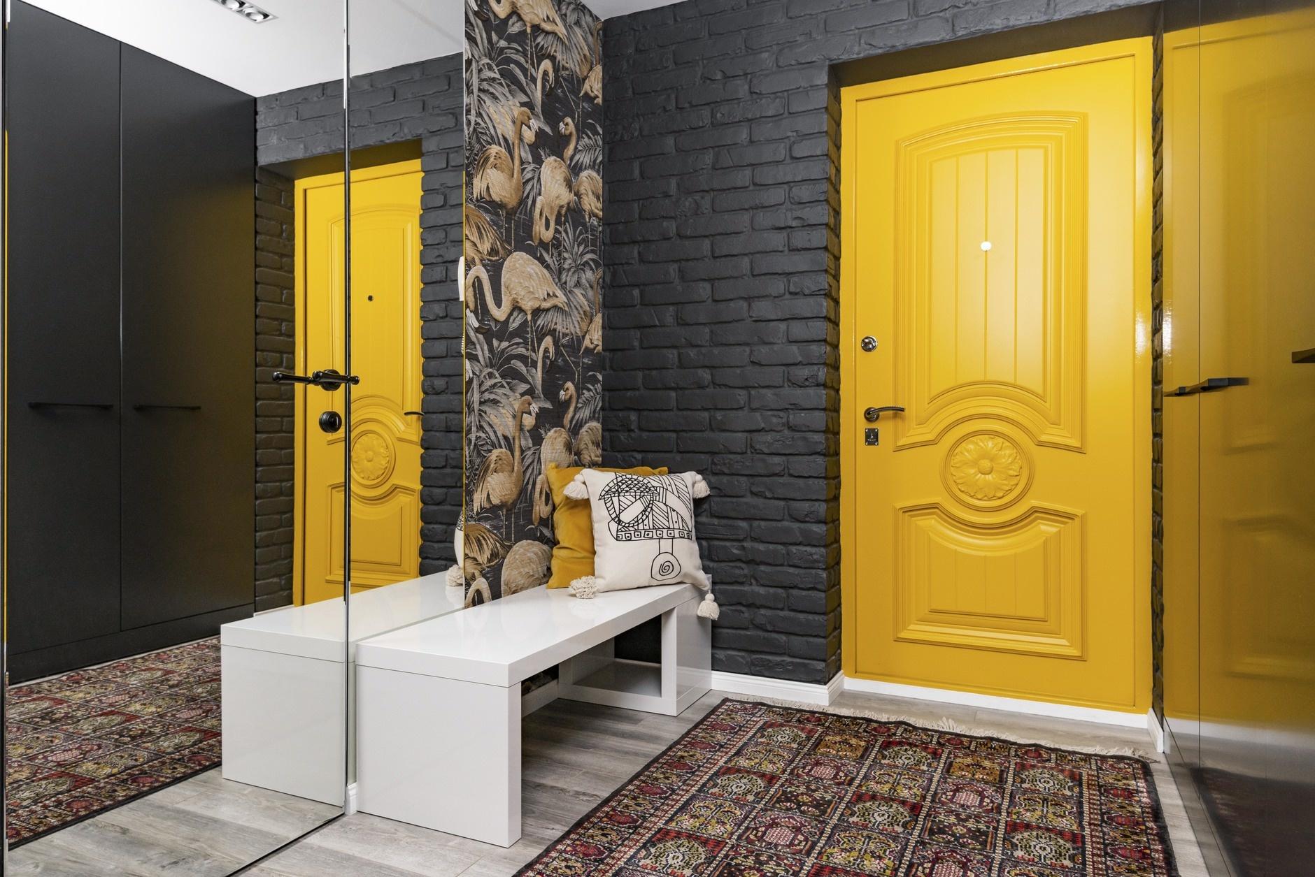 Желтый цвет в интерьере: 15+ идей (галерея 0, фото 18)
