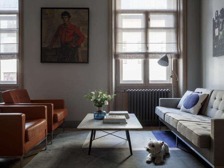 Квартира 90 кв.м в Нащокинском переулке: проект Ольги Колесик (фото 4)