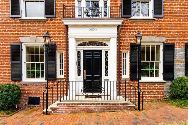 Бывший дом Джона Кеннеди в Вашингтоне (фото 2)